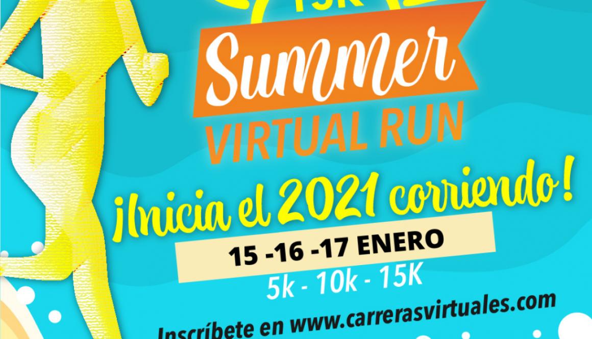 """21K SUMMER VIRTUAL RUN"""